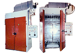Seco Curing Oven ----- Gas Heated